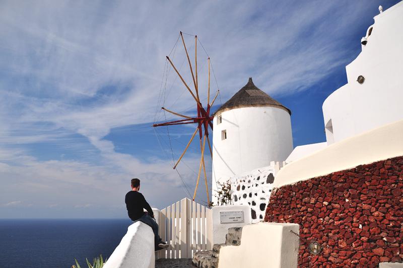 wiatrak Grecja