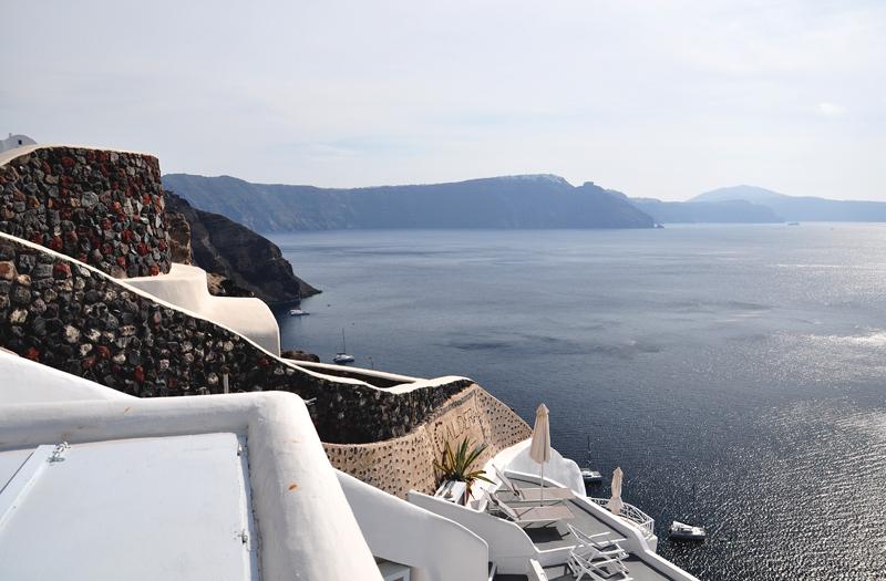 wybrzeże Santorini