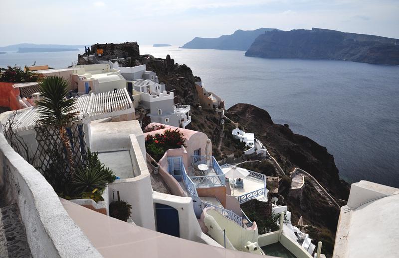 Santorini widok