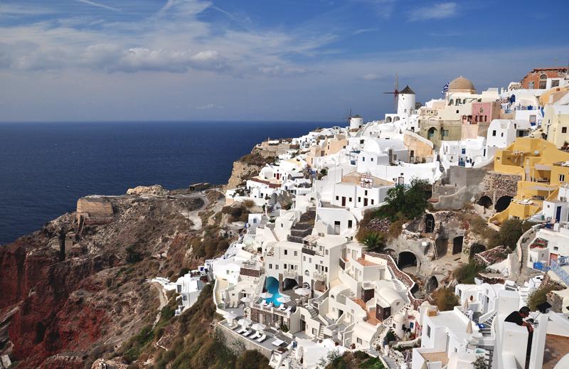 Santorini co zobaczyć
