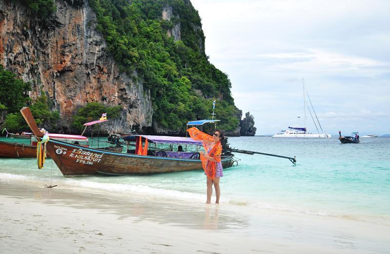Ko Phi Phi Tajlandia plaża