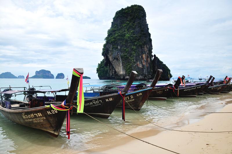 longboaty w Tajlandii
