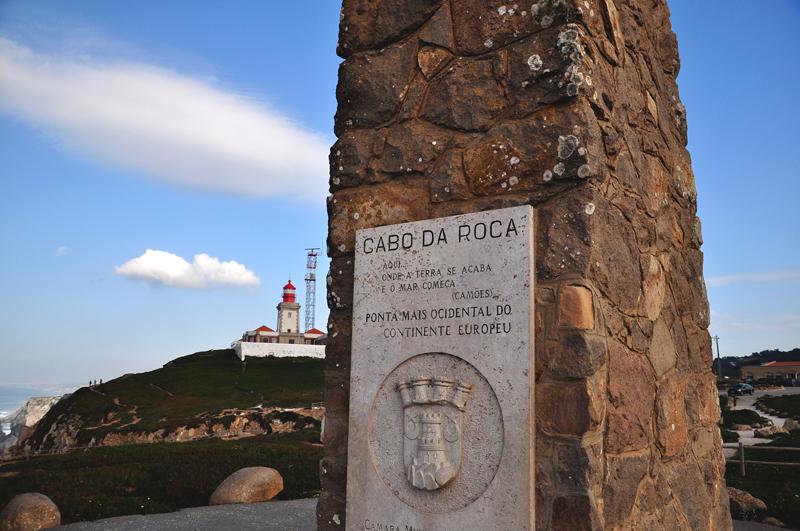 pomnik na Cabo da Roca