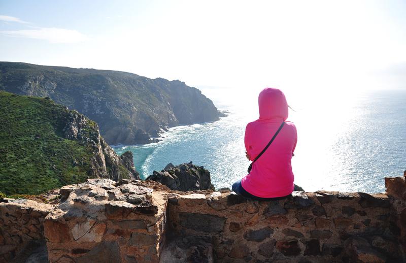 wybrzeże w Cabo da Roca