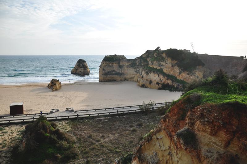 miejska plaża na Algarve