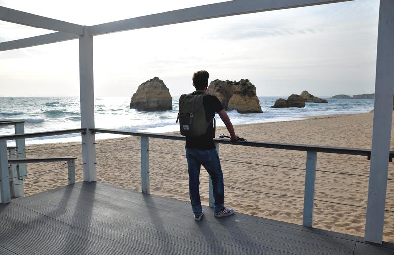 widoki na Algarve