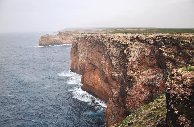 klify na Algarve