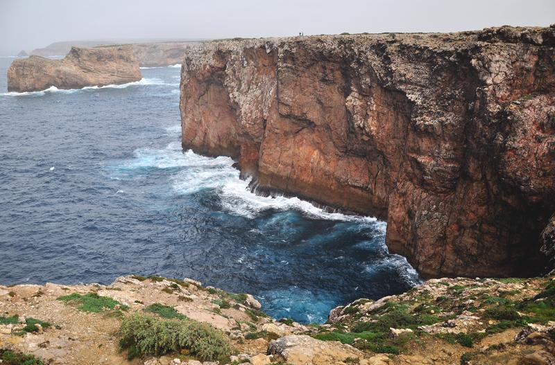 wybrzeże na Algarve