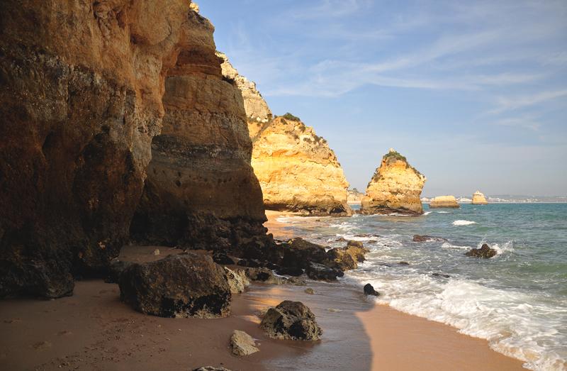 Algarve wybrzeże