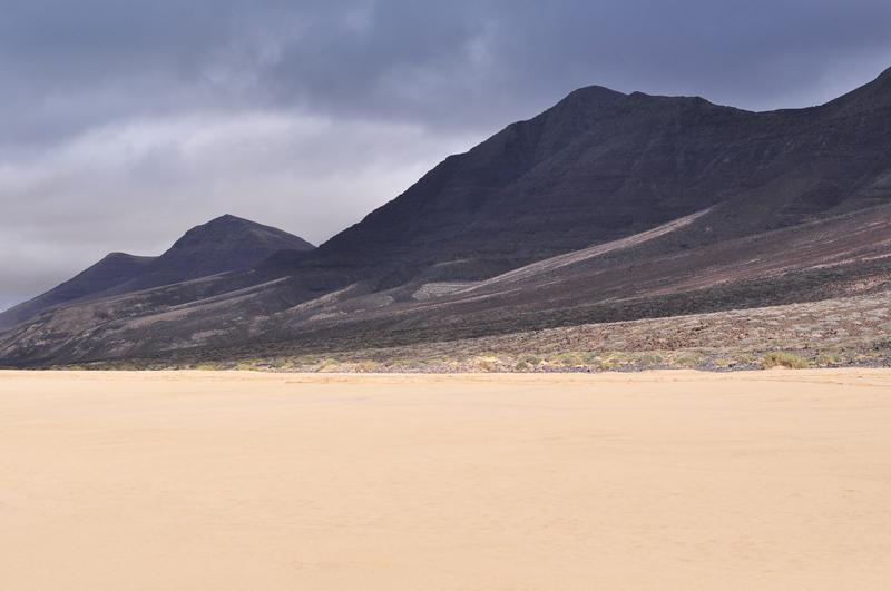 krajobraz na Fuerteventurze