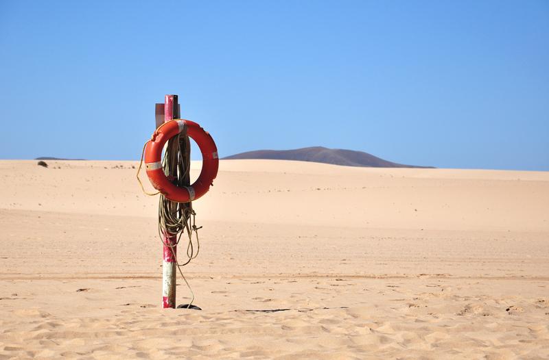 wydmy na Fuerteventurze