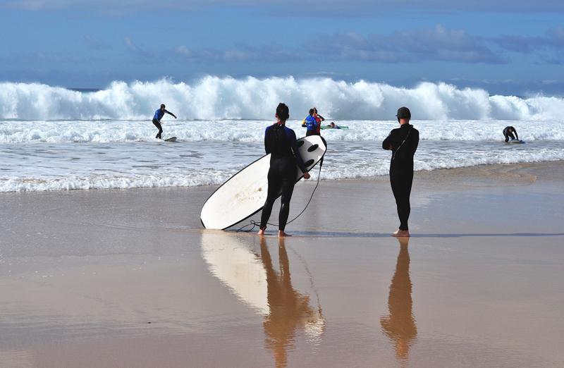 surfing na Wyspach Kanaryjskich