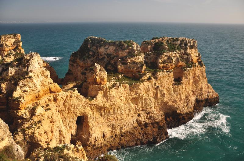 klif na Algarve