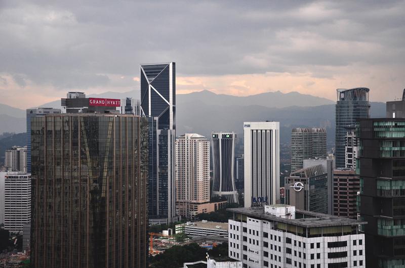 wieżowce w Kuala Lumpur