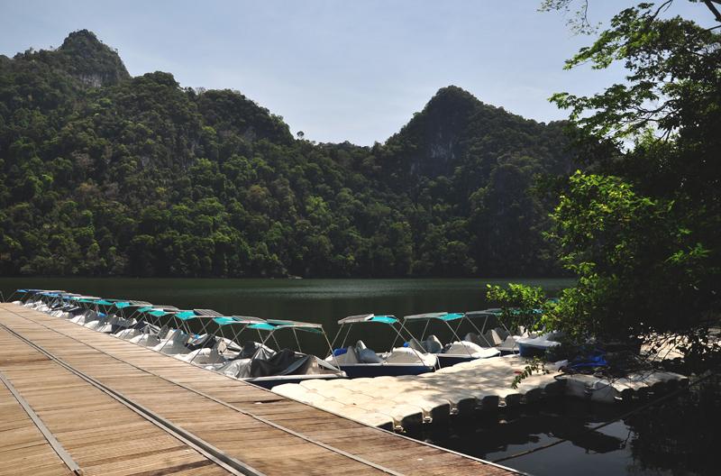 jezioro na Langkawi