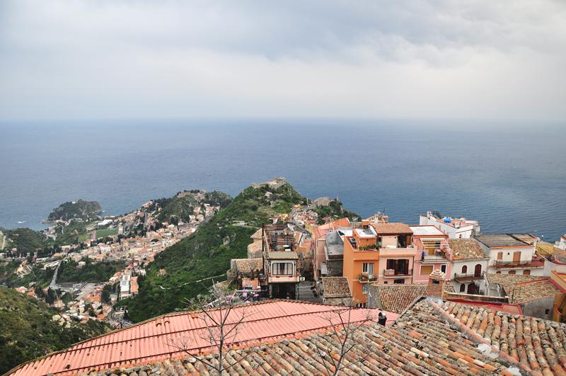 krajobrazy na Sycylii