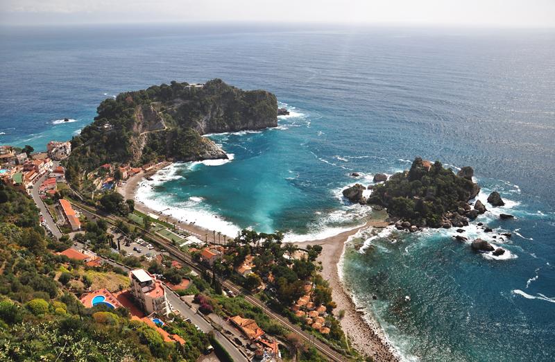 atrakcje Sycylii Isola Bella