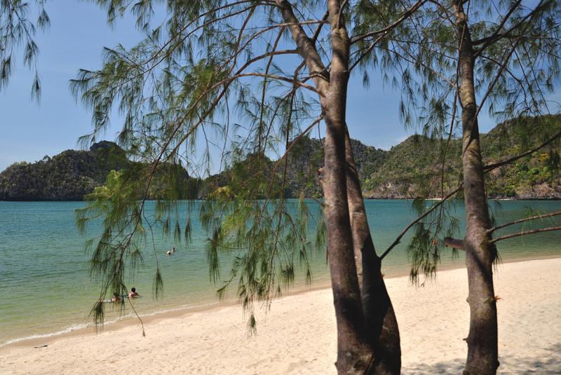 najpiękniejsza plaża na Langkawi