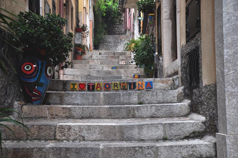 schody na Sycylii