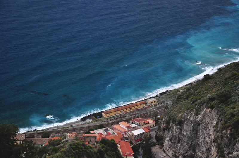 Sycylia brzeg Morza Śródziemnego