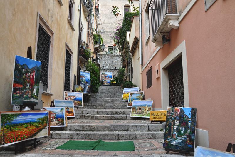 uliczki Taorminy