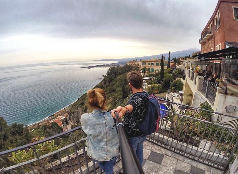selfie Taormina
