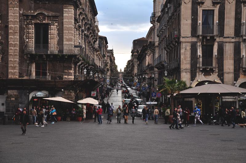 ulica w Katanii