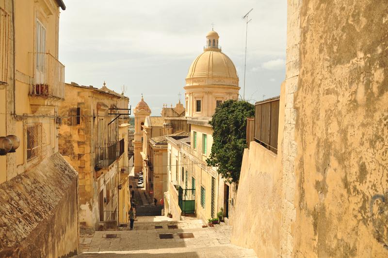 widok Noto Włochy