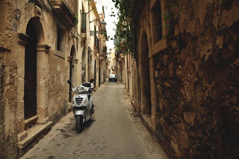 włoska uliczka