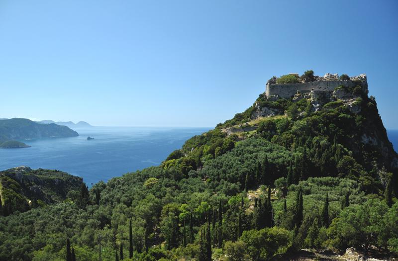 Angelokastro na Korfu