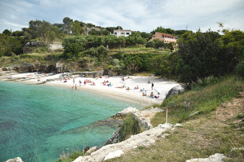 Korfu najlepsze plażę