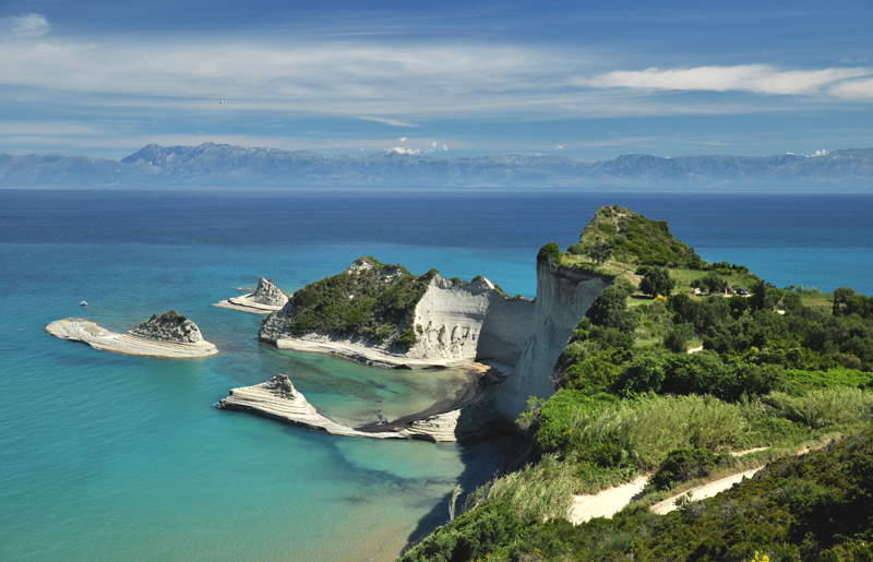 Korfu Cape Drastis