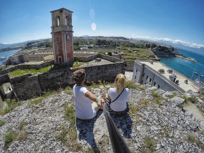 widoki na Korfu