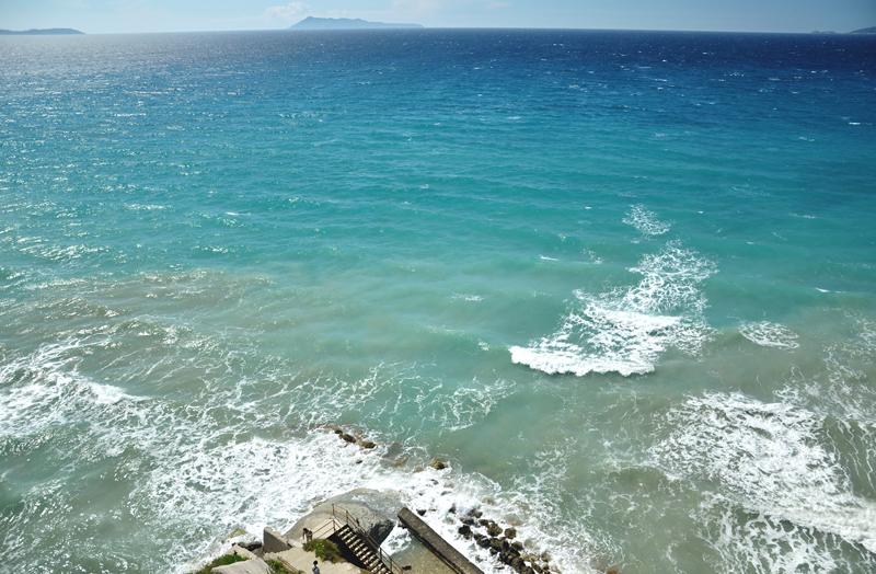 wybrzeże na Korfu