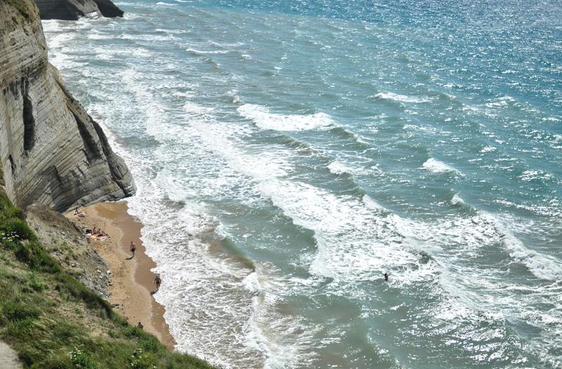 Logas Beach na Korfu