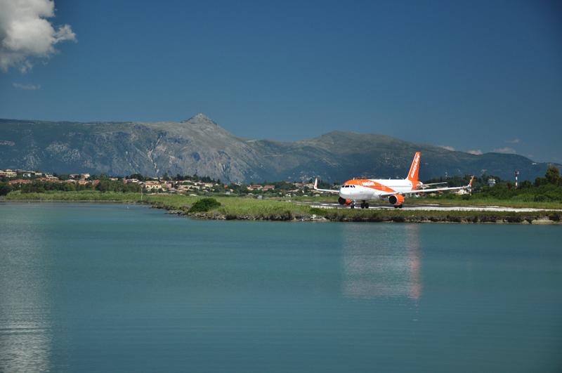 lotnisko na Korfu