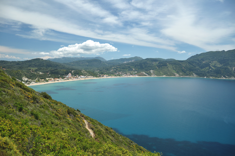 szlak do Porto Timoni na Korfu