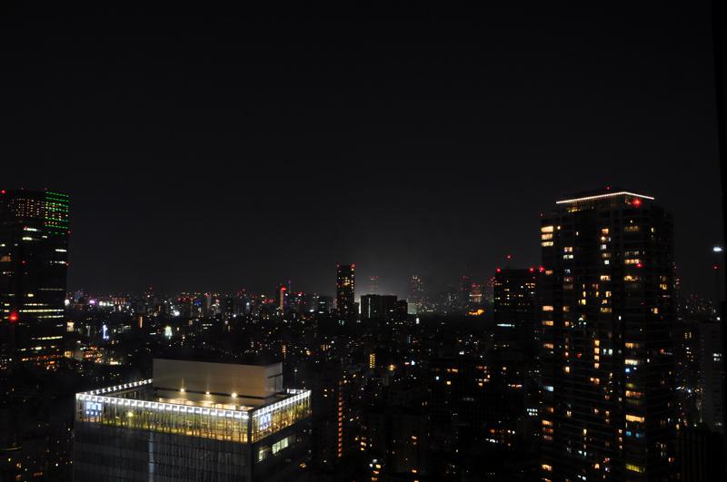 nocne zdjęcie Tokio