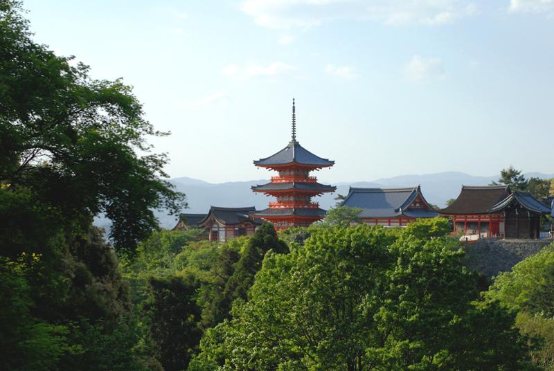 Kiyomizu-dera Kioto