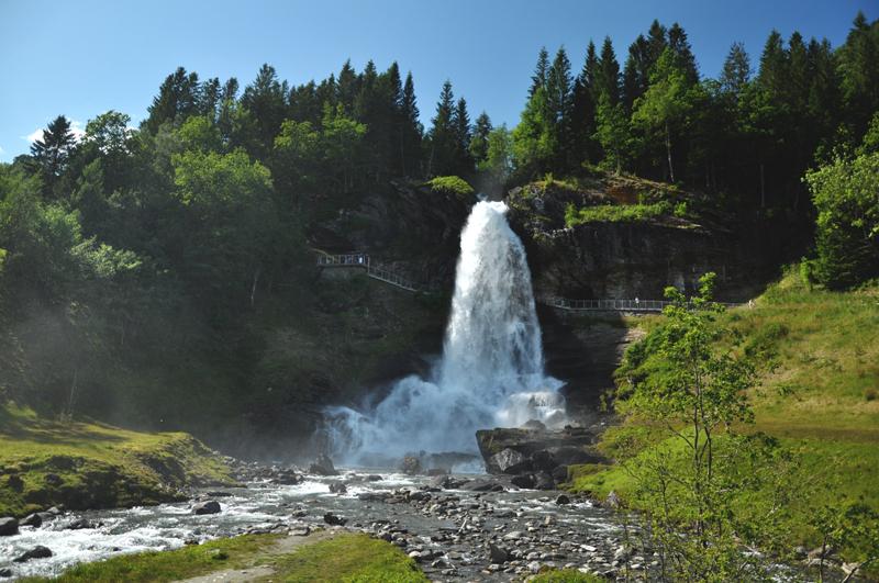 Steinsdalfossen Norwegia