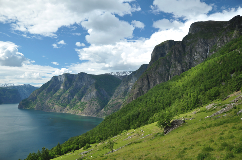 Aurlandsfjorden Norwegia