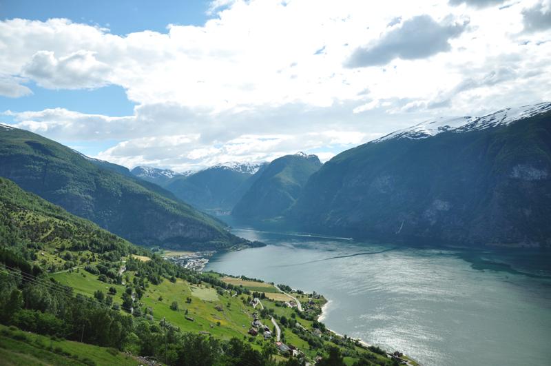 Norwegia Aurlandsfjorden