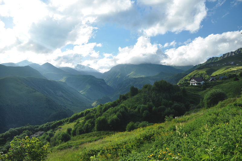 krajobraz gruzja