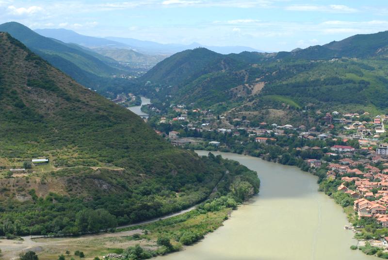 Gruzja panorama