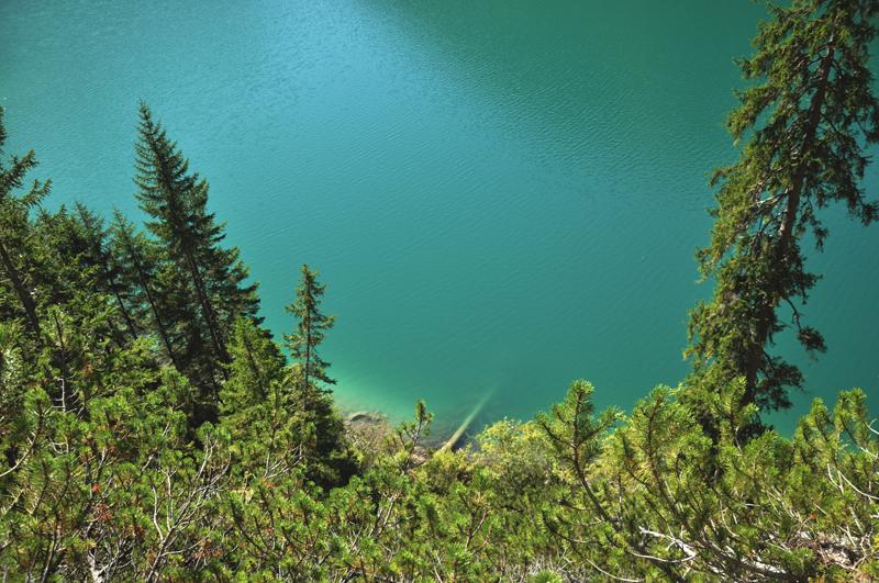 kolor wody lago di braies