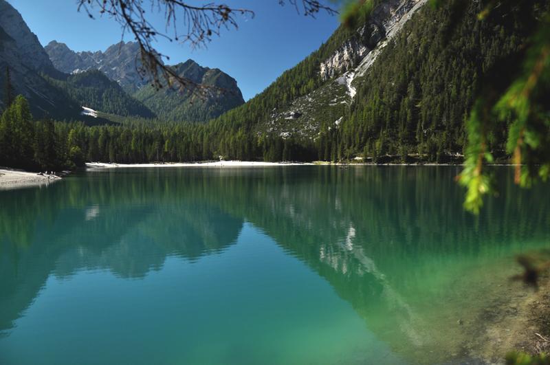 jezioro dolomity