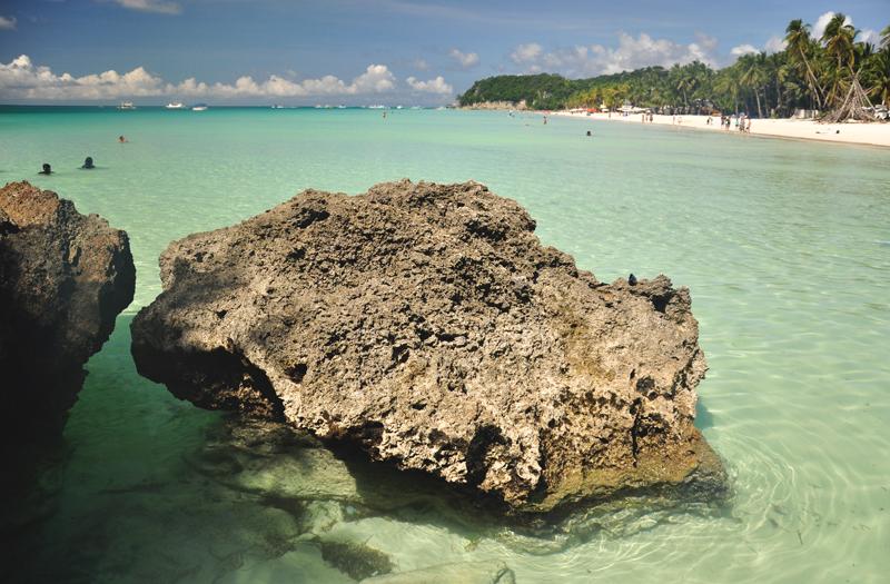 plaża na Boracayu