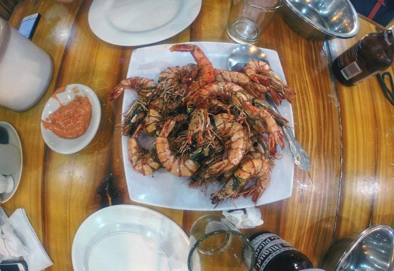 boracay restauracja krewetki