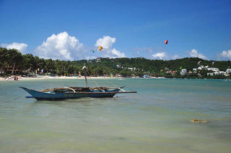 łódka Boracay