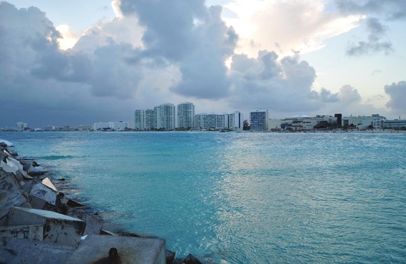cancun plaża